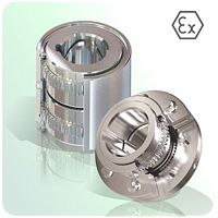 couplings: mechanical power transmission all steel gear coupling with ATEX certification on request