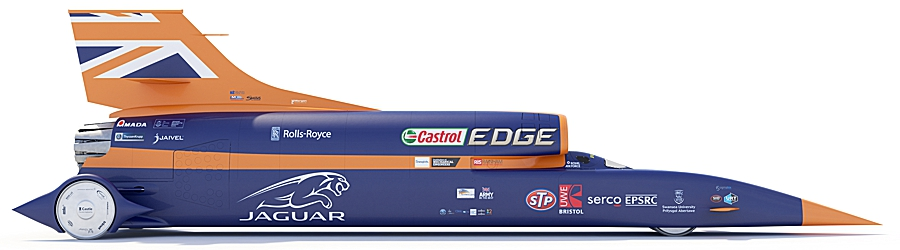BLOODHOUND SSC; link to jbj Techniques' involvement with this noble project.