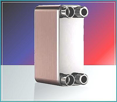 Brazed Plate Heat Exchangers ~ very high efficiency