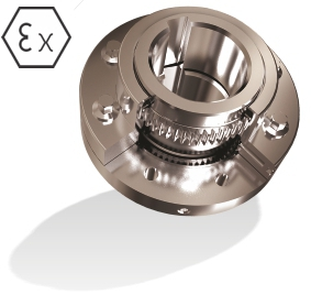 all steel gear coupling with ATEX certification