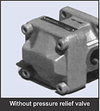GPA series low noise internal gear pump without pressure relief valve