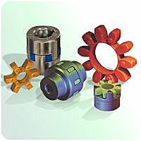 couplings: mechanical power transmission spider coupling
