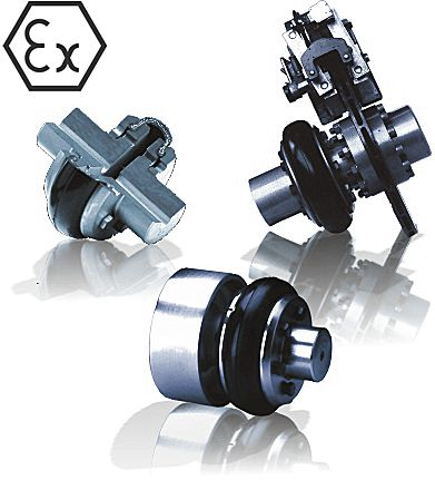 ATEX mechanical power transmission tyre couplings