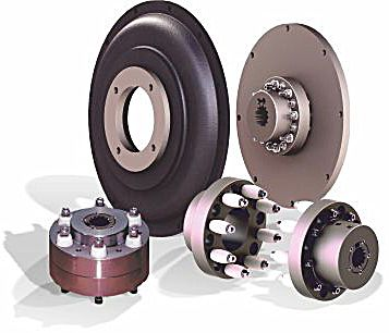ATEX compliant 'JXL' torsionally resilient couplings, of pin and bush design