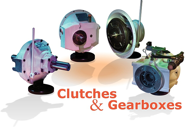 Clutches and speed increasing/decreasing gearboxes