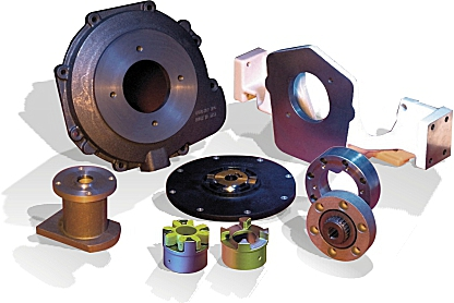 Hydraulic Adaptors Allow Close Coupling Of Hydraulic Pumps