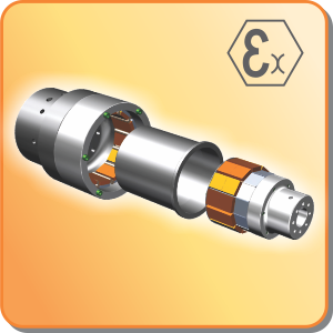 couplings: mechanical power transmission permanent magnetic coupling with ATEX certification on request