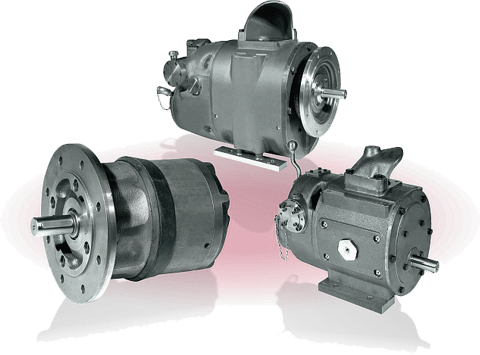 Pneumatic motors designed for permanent operation & harsh operating conditions
