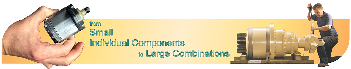 Small individual components to large combinations; jbj Techniques Limited.