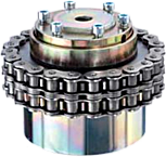 Torque limiting chain coupling for high  temperature areas & other high demand for . . .