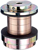 Torque Limiting coupling designed for broad drive parts in long version.